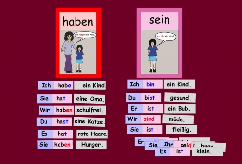 """""""haben"""" und """"sein"""""""