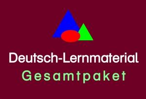 Deutsch-Lernmaterial Gesamtpaket