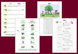 Übungen Vorwörter mit dem 3. oder dem 4. Fall